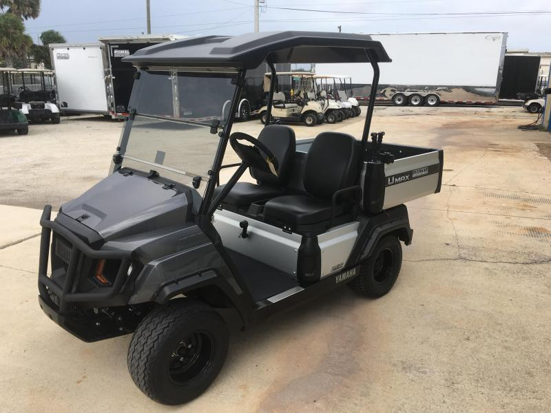 2019 Yamaha UMax One Gas Golf Cart 2 Passenger with Dump Bed - Carbon in Ashburn, VA