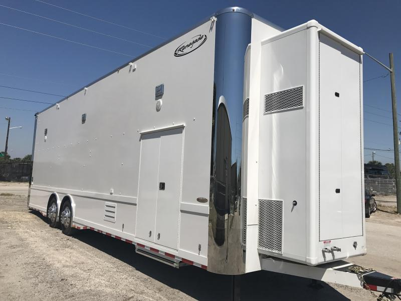 2018 Renegade 36' Hydraulic Lift Gate Stacker Trailer