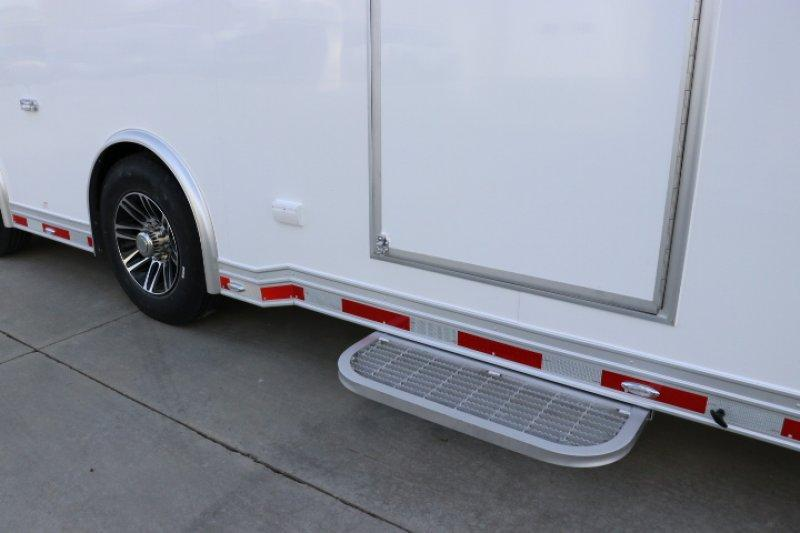 2019 inTech 40' All Aluminum Gooseneck Sprint Car Trailer