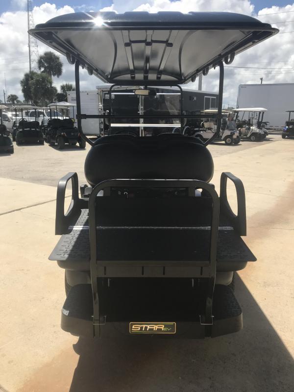 StarEV Classic 48V Electric Golf Cart Street Legal 6 Pass - Black
