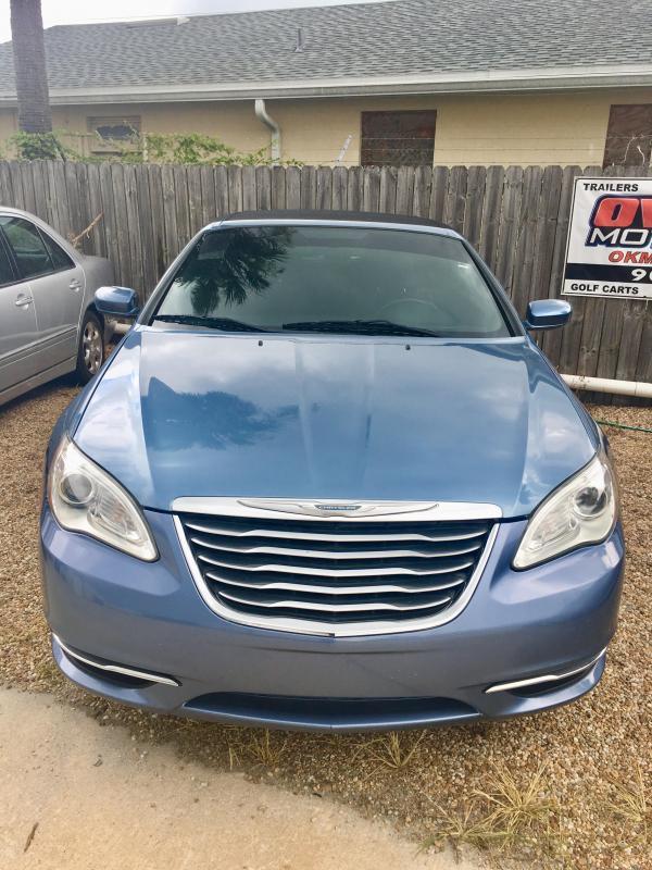 2011 Chrysler 200 Convertible V6 2 Door Touring - Blue
