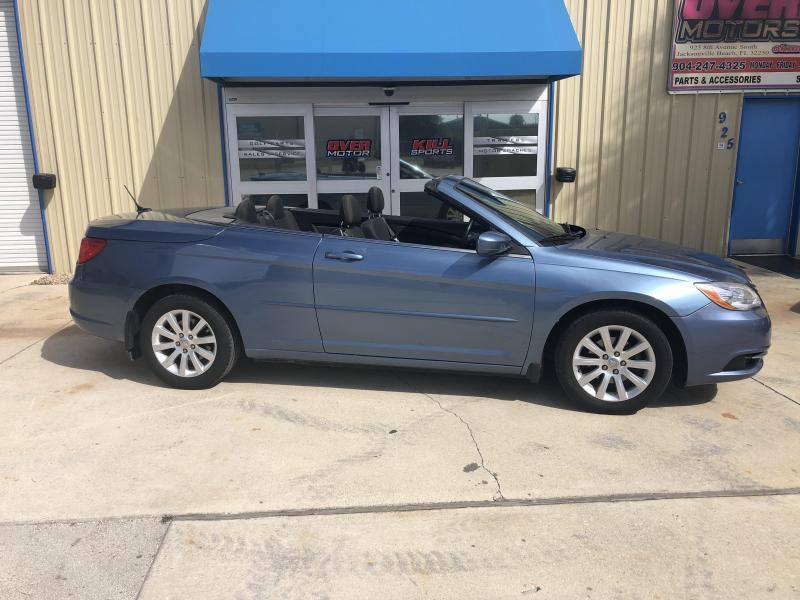 2011 Chrysler 200 Convertible V6 2 Door Touring - Blue