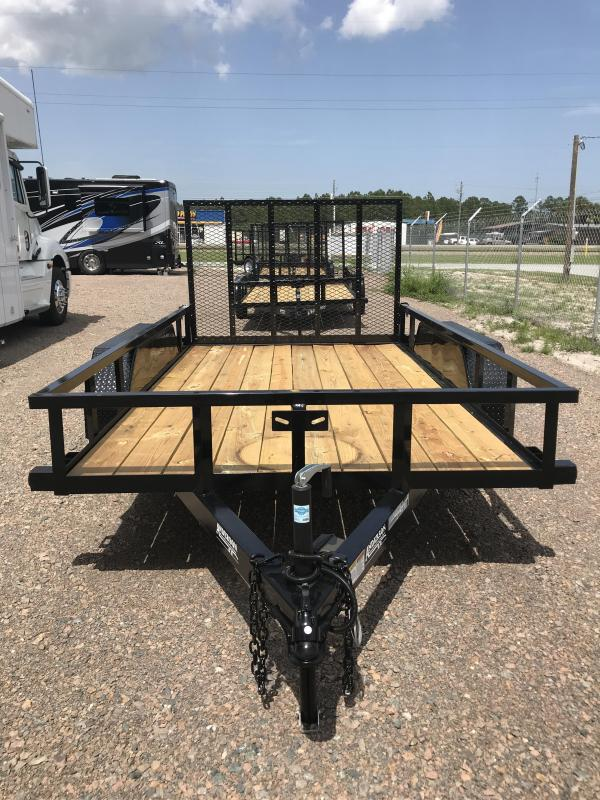 2019 Anderson LST6x12 Open Utility Trailer