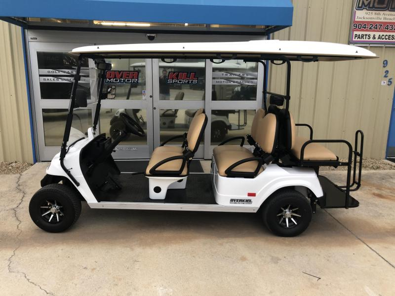 StarEV Classic 48V Electric Golf Cart Street Legal 6 Pass - White