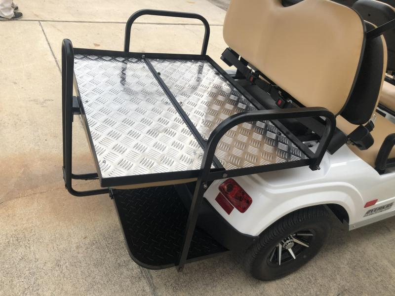 2019 StarEV Classic 48V Electric Golf Cart Street Legal 6 Pass - White