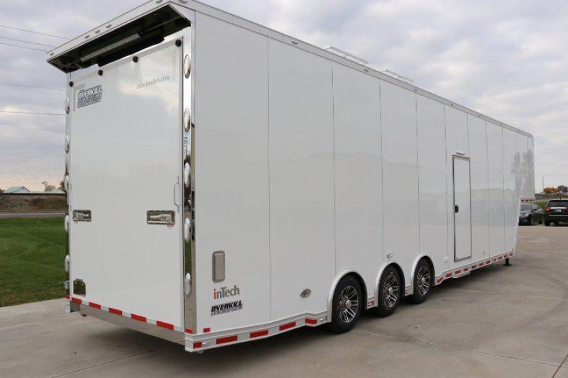 2019 inTech 42' Aluminum Gooseneck Sprint Car Trailer