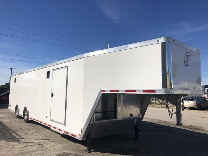 2017 INTECH 40' ALL ALUMINUM GOOSENECK TRAILER