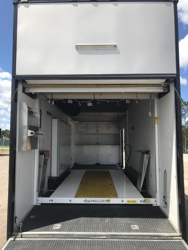 2015 Continental Cargo 28'  Stacker Trailer