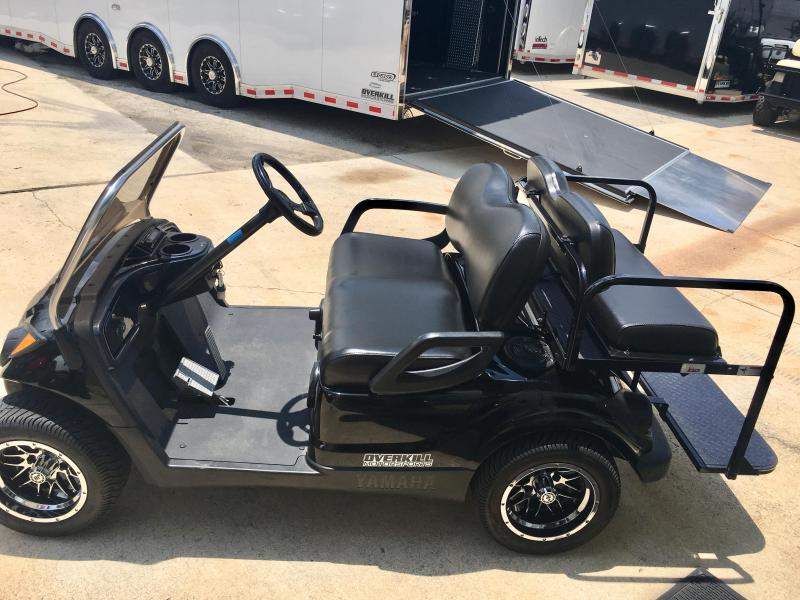 2013 Yamaha Drive Gas Golf Cart 4 Pass - Black