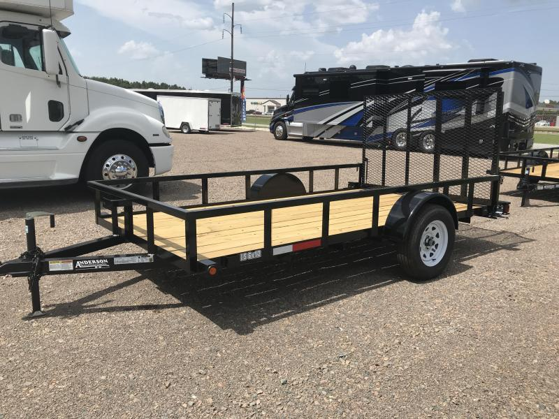 2019 Anderson LS6x12 Open Utility Trailer