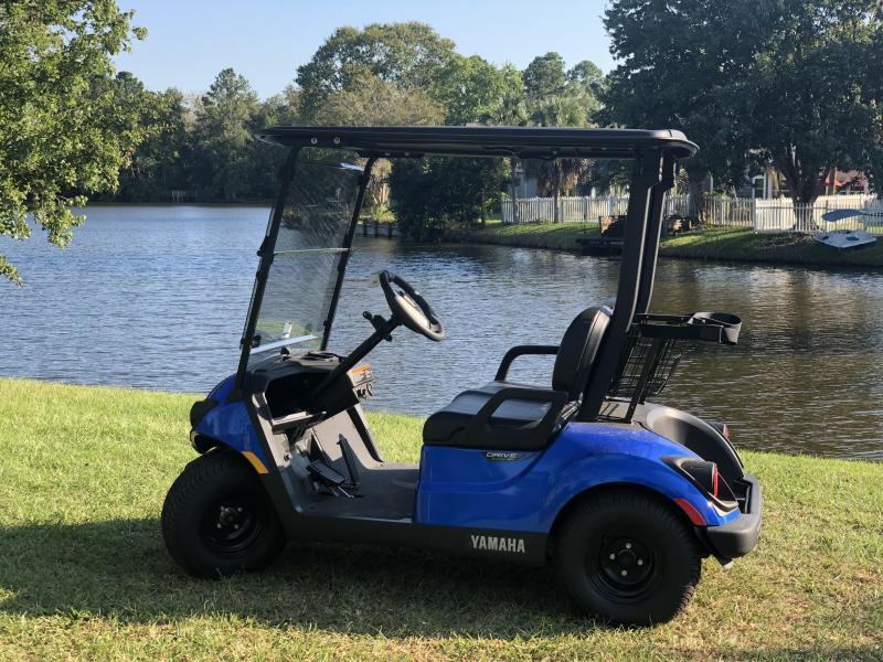 2020 Yamaha Drive2 PTV Quietech Gas Golf Cart EFI 2-Passenger