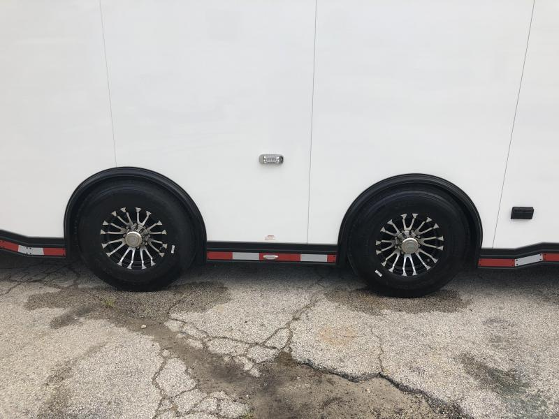 2018 inTech 40' All Aluminum Gooseneck Trailer w/ Black Exterior Trim PKG