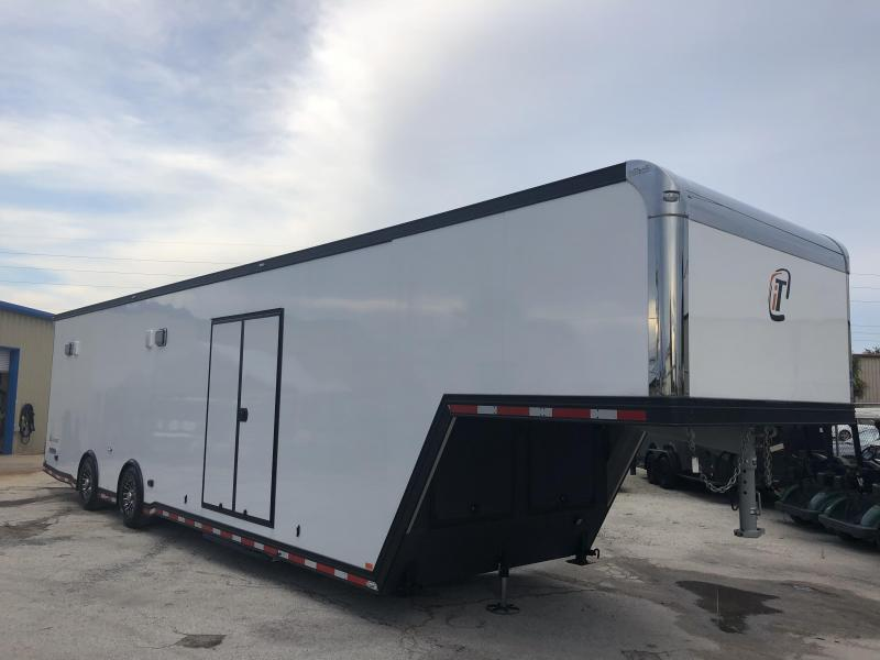 2019 inTech 40' All Aluminum Gooseneck Trailer w/ Black Exterior Trim PKG in Ashburn, VA