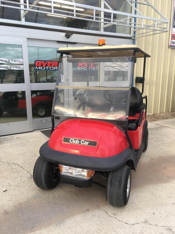 2005 Club Car Precedent 48V Electric Golf Cart 4 Pass - Red
