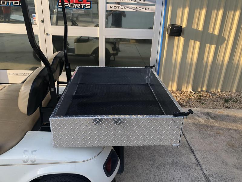 2009 E-Z-GO 2 Passenger Electric with Cargo Box Golf Cart