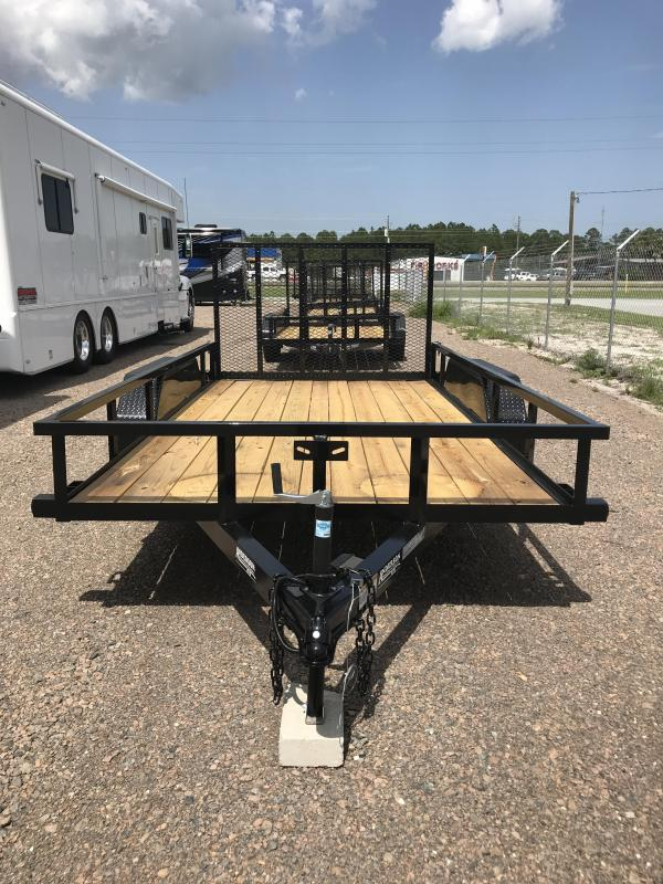 2019 Anderson LST7x14 Open Utility Trailer