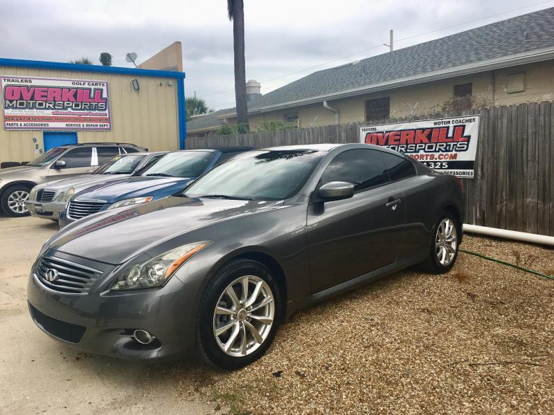 2011 Infiniti G37X Coupe Car3.7L V6 All Wheel Drive