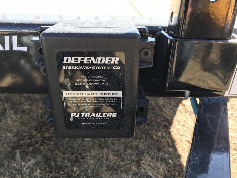 2018 PJ Trailers 83x14 Tandem Axle Channel Utility (UL)