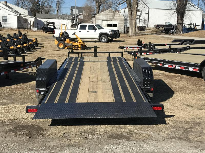 2018 PJ Trailers 82x20 Channel Equipment Tilt (T6)
