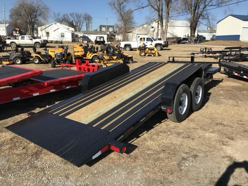2018 PJ Trailers 82x20 Channel Equipment Tilt (TJ)