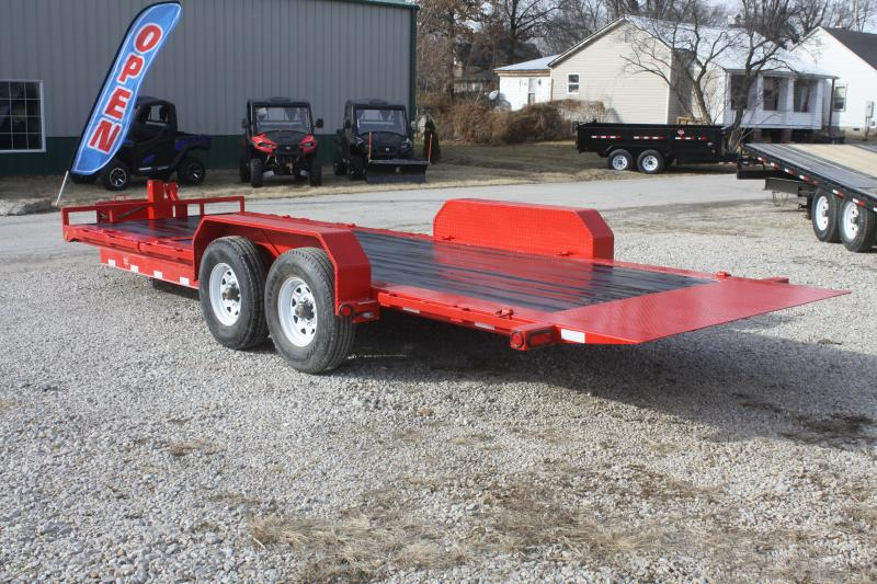 2018 PJ Trailers 82x22 HD Equipment Tilt (TJ)