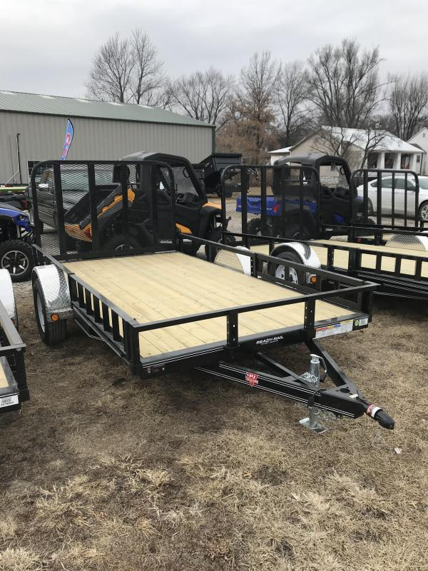 2018 PJ Trailers 10' Single Axle Utility (U7)