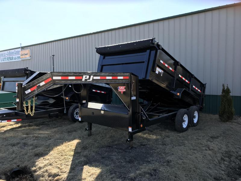 2018 PJ Trailers 83x14 High Side Dump (DH)