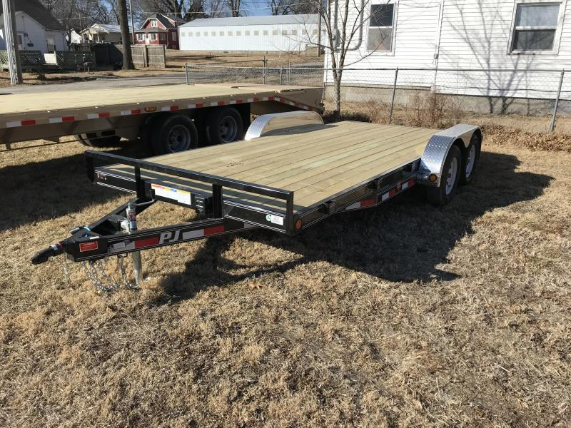 2018 PJ Trailers 18'x83'' Car / Racing Trailer (C5)