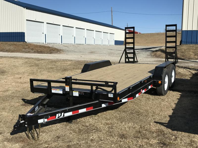 2018 PJ Trailers 83x18 6 in. Channel Equipment (CC)