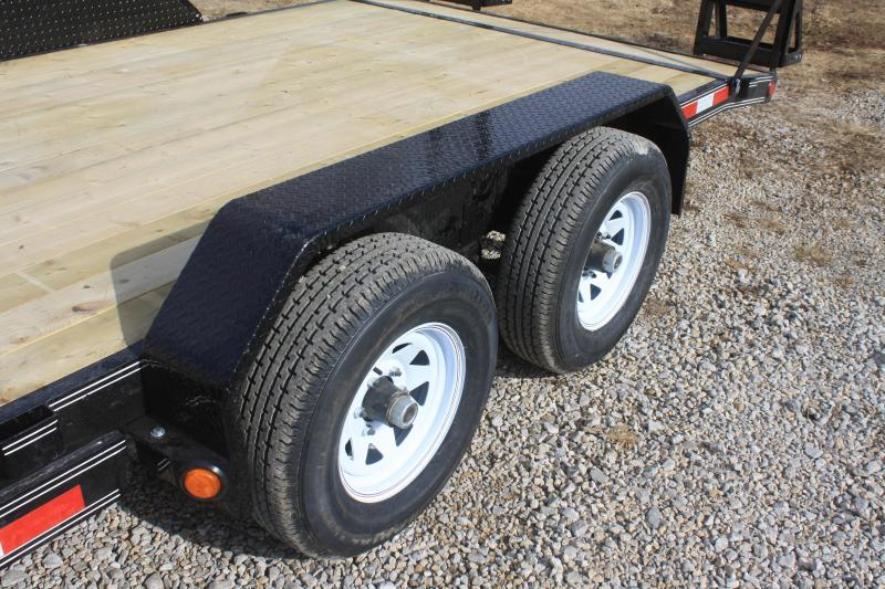 "2018 PJ Trailers 83x20 5"" Channel Equipment (CE)"