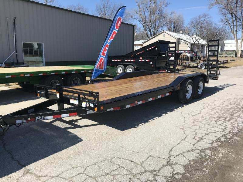 2018 PJ Trailers 102x22 Super-Wide (B6)
