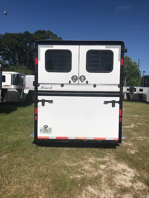 2011 Hawk Trailers Custom 2 1 Horse Trailer