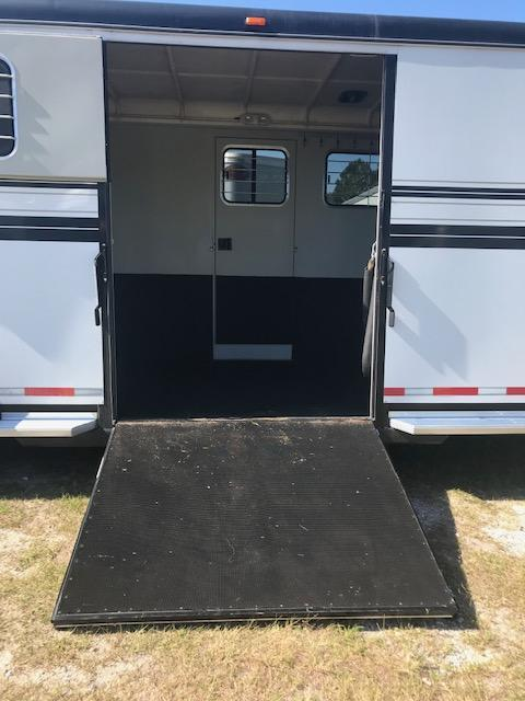2011 Hawk Trailers Custom 2 1 Horse Trailer