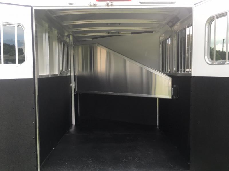 2019 Exiss Express 2H SS Edition Horse Trailer