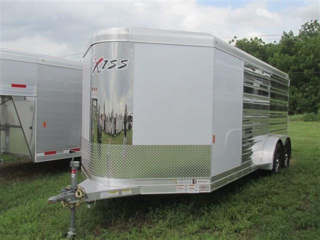 2020 Exiss Trailers Exhibitor 716A BP Horse Trailer
