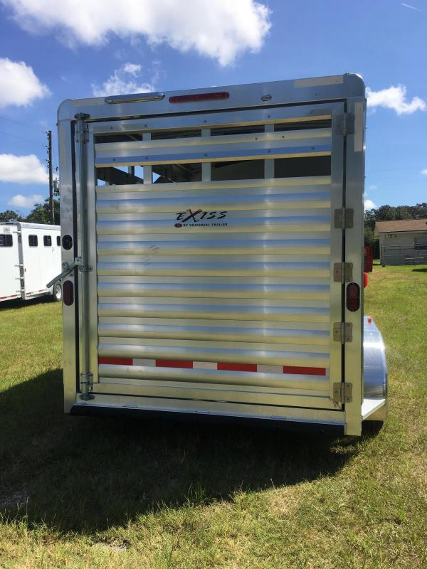 2019 Exiss Express 2H CX Horse Trailer
