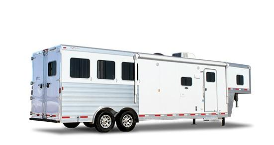 2018 Exiss Endeavor 8310 LQ W/ GLIDE Horse Trailer