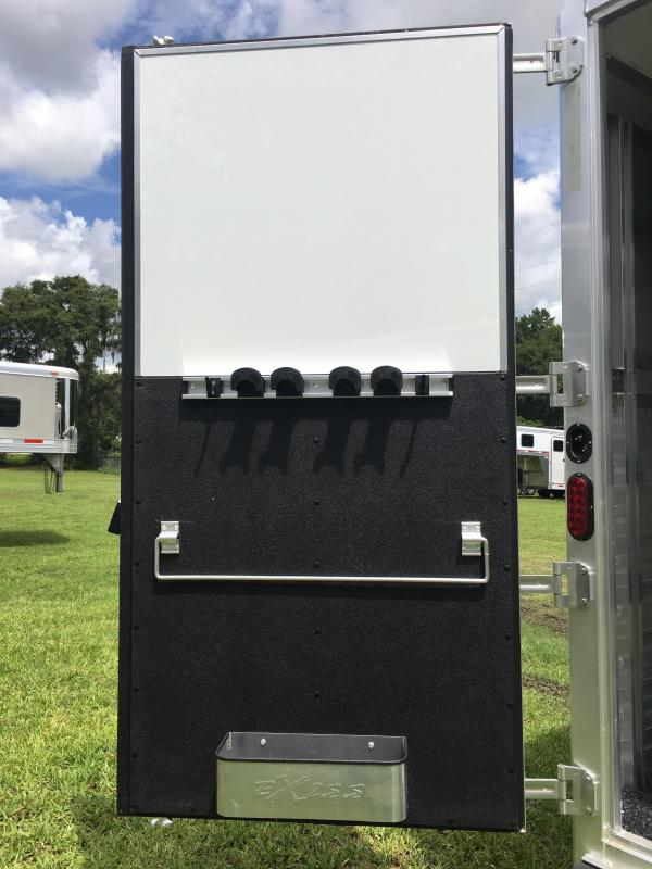 2019 Exiss Endeavor 8312 LQ W/ Glide Horse Trailer