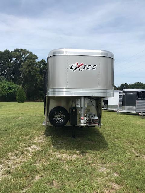 2020 Exiss Trailers 7311 CXF 3 HLQ Horse Trailer