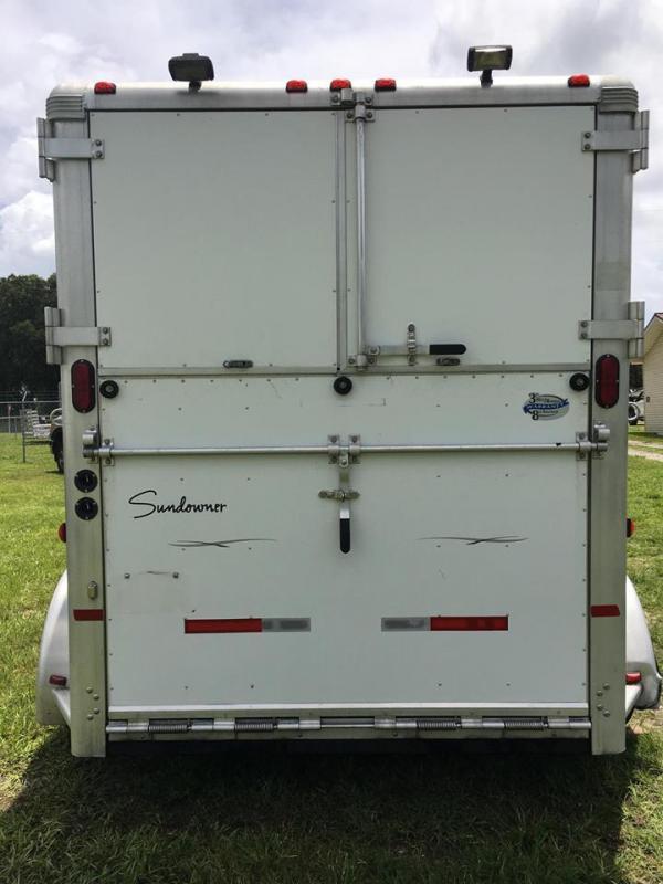 2007 Sundowner Sunlite 777 2H ST GN Horse Trailer