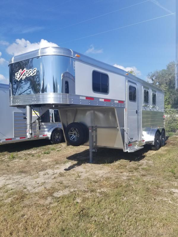 2018 Exiss 7200 GN Horse Trailer
