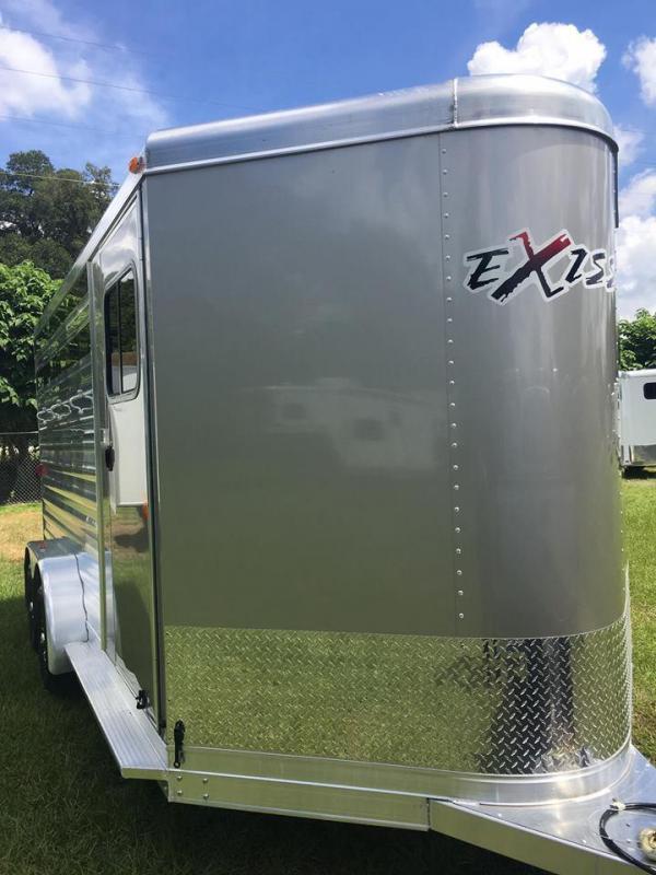 2019 Exiss Express 3H CX BP Horse Trailer
