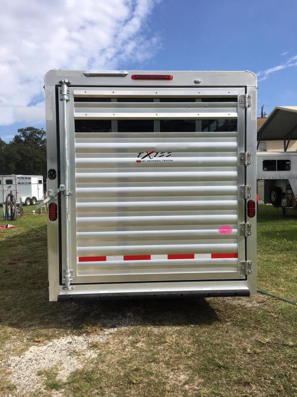 2019 Exiss Trailers 7311 CXF LQ Horse Trailer