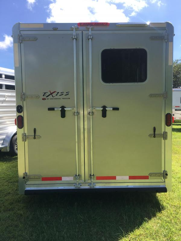 2019 Exiss 720 2H BP Horse Trailer