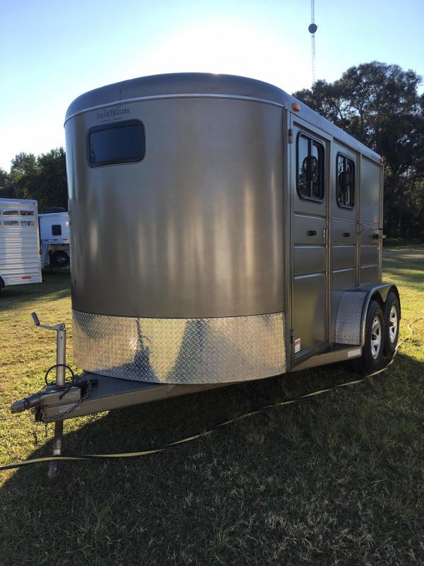 2014 Calico Trailers 2H Stock BP Horse Trailer