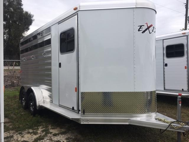 2019 Exiss Express 3H CX BP Horse Trailer