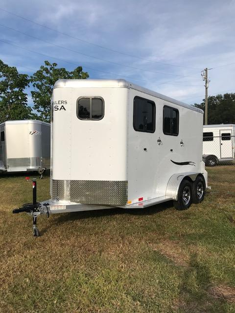 2018 Trailers USA Scout 2H BP Horse Trailer