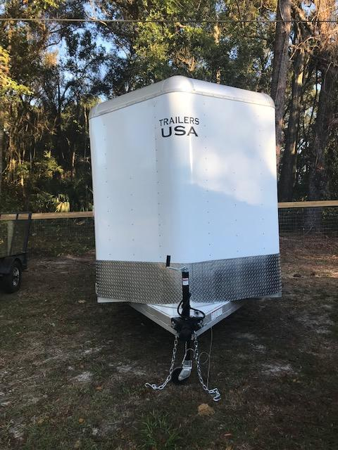 2019 Trailers USA Inc. Scout 16 Stock Horse Trailer
