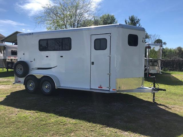 2019 Trailers USA Inc. Minuteman 3H BP w/ Dress Horse Trailer