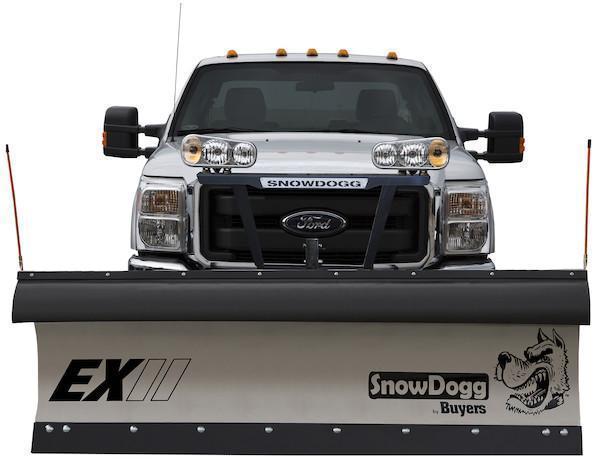 2018 SnowDogg EX85 II Stainless Snow Plow
